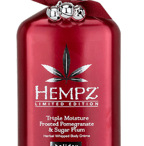 HEMPZ TRIPLE MOISTURE FROSTED PEPPERMINT & VANILLA SUGAR